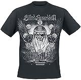 Blind Guardian Valhalla - Deliverance Hombre Camiseta Negro XXL, 100% algodón, Regular
