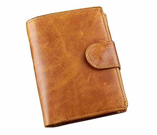 male wallets Genuine Leather Wallet Men Wallets Luxury Dollar Price Vintage Male Purse Coin Bag