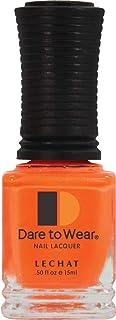 Lechat Dare to Wear Nail Polish Salon Lacquer - Coral Cornation [DW97]