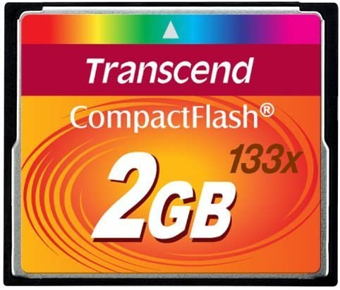 Transcend 2 GB 133x CompactFlash Memory Card TS2GCF133