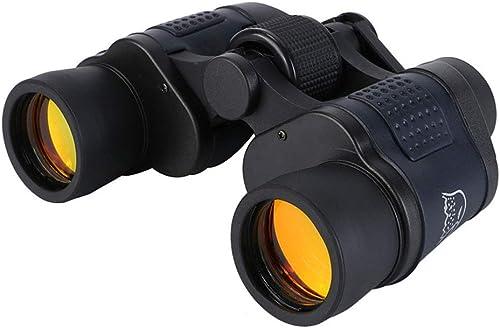 Jumelles 60x60 avec coordonnées Jumelles de Vision Nocturne Haute Puissance Haute définition télescope à Film Rouge