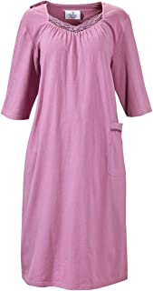 Womens Hospital Nursing Home Adaptive Patient Openback Gowns - Lavender SMA