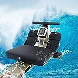 Qazxsw Rudergerät,Back Übung Rudergerät Hydraulische Widerstand Sitzrudergerät Folding Multifunktions Mute Fitnessgeräte,Gold,140 * 40 * 34cm - 6