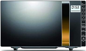 ZJDK Horno de microondas Inteligente de 20L, 900W con función de descongelación, con Pantalla LCD, múltiples Modos de menú, Adecuado para cocinar, Asar, Hornear Pasteles, fácil de Limpiar