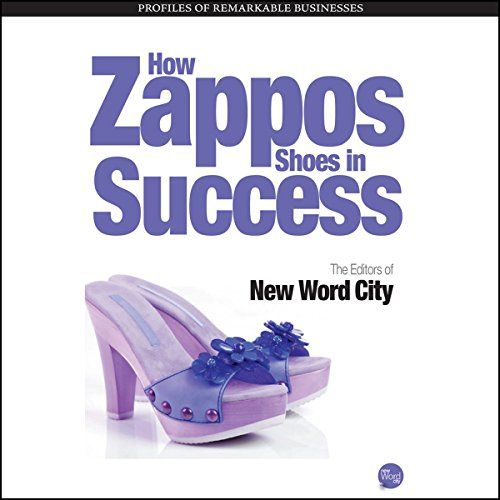 How Zappos Shoes In Success audiobook cover art