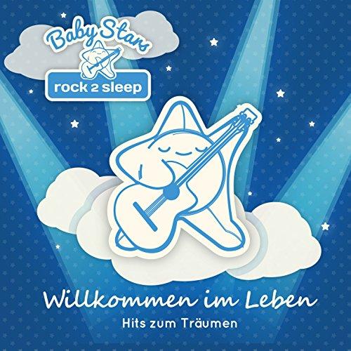 Baby Stars - rock2sleep BSCD002 Audio CD, Rock/Pop-Hits als Spieluhr- und Einschlafmelodien