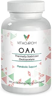 Oxaloacetate Thermally Stabilized Oxaloacetate Anti-Aging Supplement