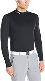 Men's ColdGear Fitted Mock Athletic Long Sleeve Shirt