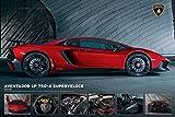 Close Up Póster Lamborghini - Aventador LP750-4 Superveloce (91,5cm x 61cm)