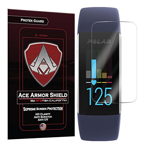 Ace Armor Shield Protek Guard (6 Pack) Screen Protector for The Polar A370 with Free Lifetime Replacement Warranty