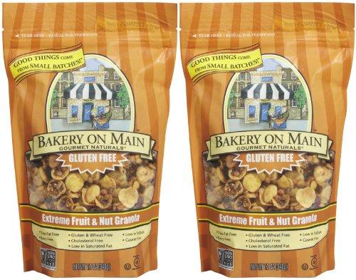 Bakery On Main Extreme Fruit & Nut, Gluten Free Granola, 12 oz Bags, 2 pk