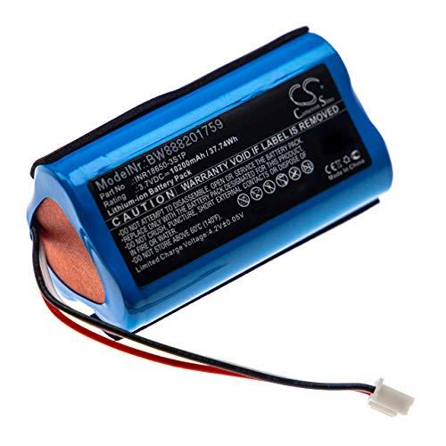 vhbw batería Compatible con Altec Lansing IMW789, IMW789-BLG, LifeJacket, LifeJacket XL Altavoz Altavoces (10200mAh, 3,7V, Li-Ion)