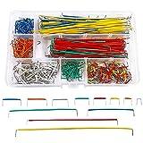 (560 Pcs) MCIGICM Breadboard Jumper Wire Cables for Arduino, 14 Vaules, 2-125 mm