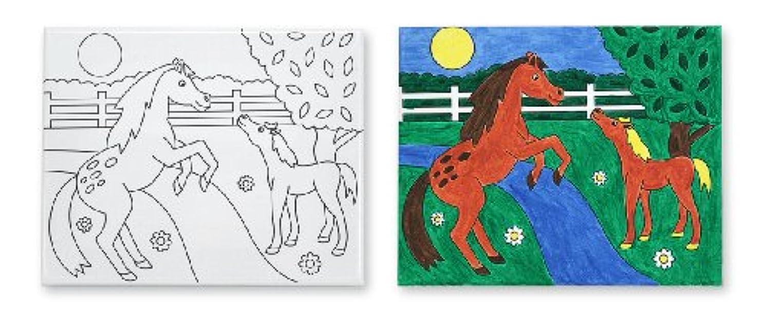Melissa & Doug Canvas Creations Horses