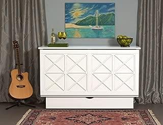 Arason Essex Creden-ZzZ Cabinet Bed (White)