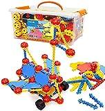 Smarkids Konstruktionsspielzeug für Kinder, STEM Gebäude Kit Bausteine Spielzeug für Jungen und Mädchen Baukasten Pädagogische Lernspielzeug ab 3 Jahre Bauset
