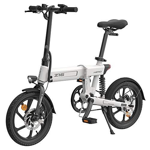 HIMO Z16 Bicicleta eléctrica Plegable para Adultos, Bici eléctrica de montaña de 16