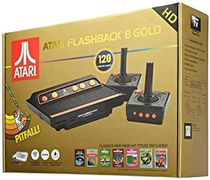 Import - Consola Retro Atari Flashback 8 Wireless HD (120 Juegos)