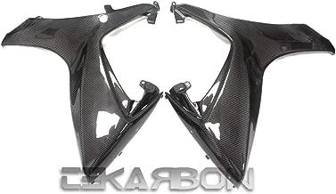 Tekarbon, Carbon Fiber Large Side Fairings, for Suzuki GSXR 600/750 (2006-2007), 2x2 Twill Weave