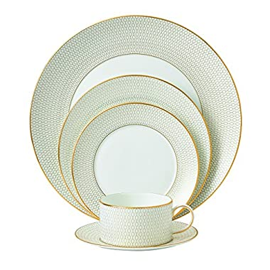 Wedgwood 40007538 Arris 5 Piece Place Setting, Multicolor