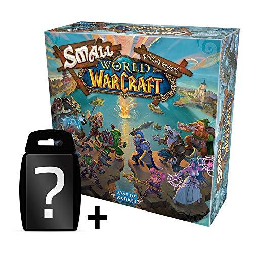 Small World - World of Warcraft - Grundspiel | DEUTSCH | Set inkl. Kartenspiel