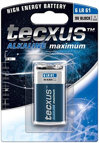 9V Block (6LR61) Batterie Alkaline mit langer Lebensdauer