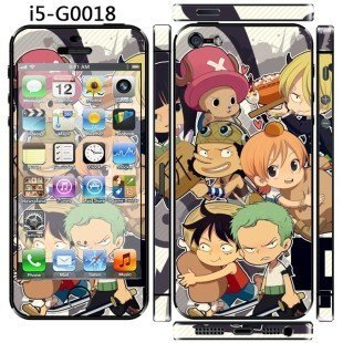 """Super Cute !!""""ONE PIECE"""" Screen Protector For iPhone 5/5S/SE"""