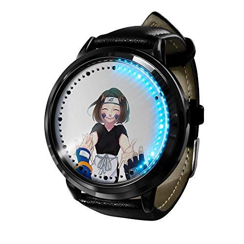 El Nuevo Reloj de animación Femenino de Naruto está Hecho de Cuarzo de animación de Acero Inoxidable.-E