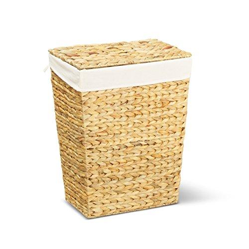 Wäschekorb MARKUS, 34x24x43 cm (L/B/H), Wäschebox, inkl. Wäschesack aus Baumwolle, Volumen: ca. 35 Liter - Premium Wäschetruhe