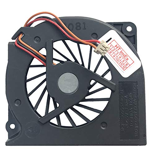 (Version 1-1cm Höhe Version) Lüfter/Kühler Fan kompatibel mit (FSC) Fujitsu Siemens Lifebook S752, S781, S6420, T730
