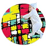 Alfombra redonda para el suelo, esterilla de yoga, decoración...