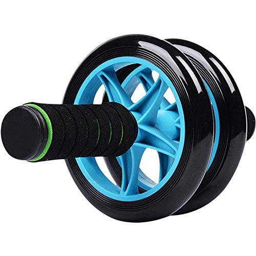 Rindasr Sport buikwiel apparatuur, dual-wheel versterkte stille anti-slip schuim, dual power wielen voor mannen en vrouwen optimale buiktraining en core fitness training