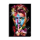 David Bowie Leinwand-Kunst-Poster und Wandkunstdruck,