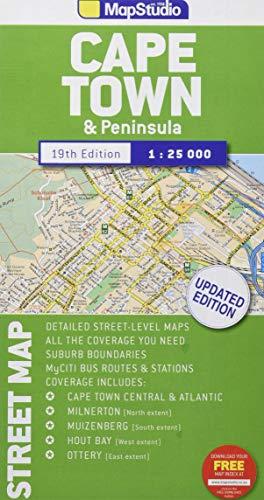 Cape Town & Peninsula 1 : 25 000: Kapstadt und Halbinsel