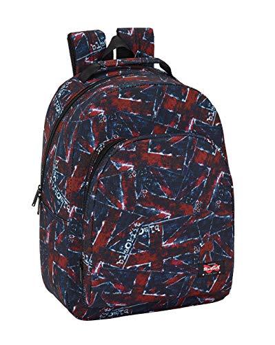 Blackfit8 Kinderrucksack, 40 cm, mehrfarbig, Flaggen (Rot) - 641942305