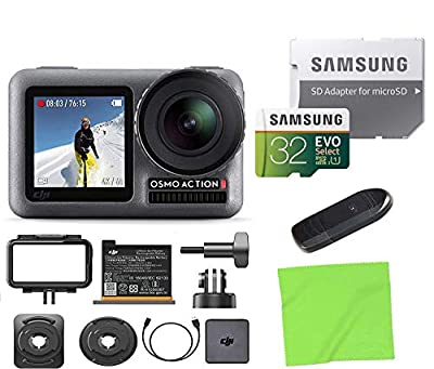 DJI OSMO Action 4K HDR Waterproof Action Camera with 2 Displays Kits from The Tech Expert