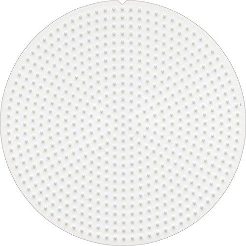 Hama 10.595 Mini tablero redondo de cuentas, mezclado