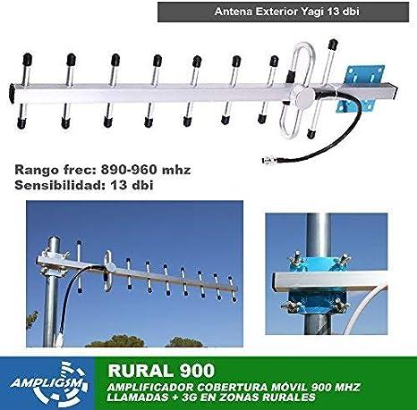 Amplificador Cobertura MÓVIL Zonas Rurales Aldea 900 (Rural 900)