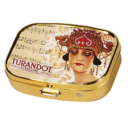 Fridolin 18261 Opera Turandot Pastillero Metal Multicolor 5,