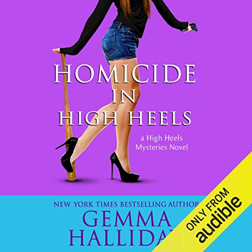 Homicide in High Heels audiobook cover art