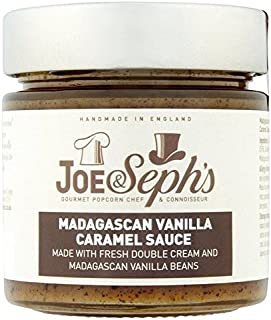 Joe & Seph's Madagascan Vanilla Caramel Sauce 230g (Pack of 2)