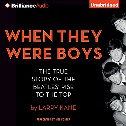 When They Were Boys audiobook cover art