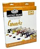 Royal & Langnickel Gouache Color Artist Tube Paint, 21ml, 24-Pack