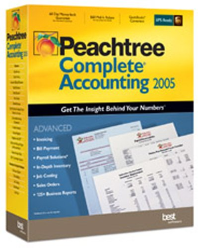 Peachtree Complete Accounting 2005 - Multi User Value Pack