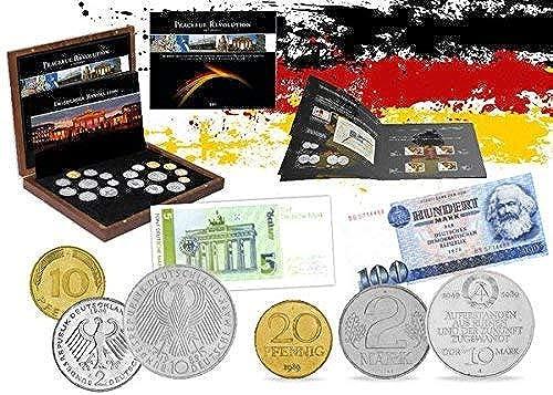 venta al por mayor barato IMPACTO COLECCIONABLES COLECCIONABLES COLECCIONABLES Monedas de Alemania - 19 Monedas y 2 Billetes, Colección 25 Aniversario de la Caída del Muro de Berlín  tienda de venta en línea