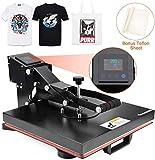 Best T-Shirt Heat Presses - Seeutek Heat Press Machine 15x15 inch Industrial Digital Review