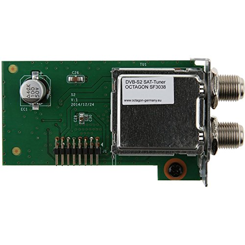 Octagon SF 3038 DVB-S2 Single Sat Tuner
