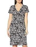 Joe Browns Damen Vintage Jersey Dress Lssiges Kleid, A-Schwarz/Weiß, 44
