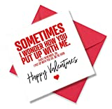 Best Valentine's Day Cards - Funny Valentines Card for Him, Valentine Card Review