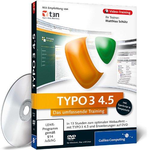 TYPO3 4.5 - Das umfassende Video-Training [import allemand]